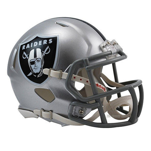 Oakland Raiders Helmet - Riddell Speed Mini Helmet