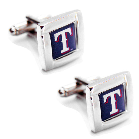 Texas Rangers Square Cuff Links