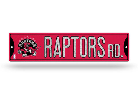 Toronto Raptors Bling Street Sign