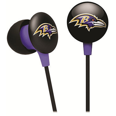 Baltimore Ravens iHip Ear Buds