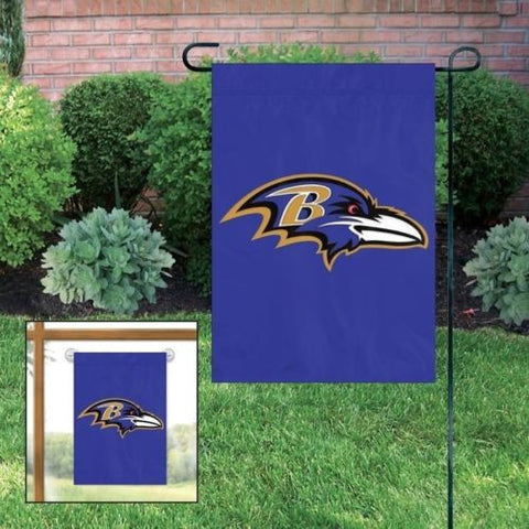 "Baltimore Ravens Flag - Indoor/Outdoor 15""x10"" Garden Flag"