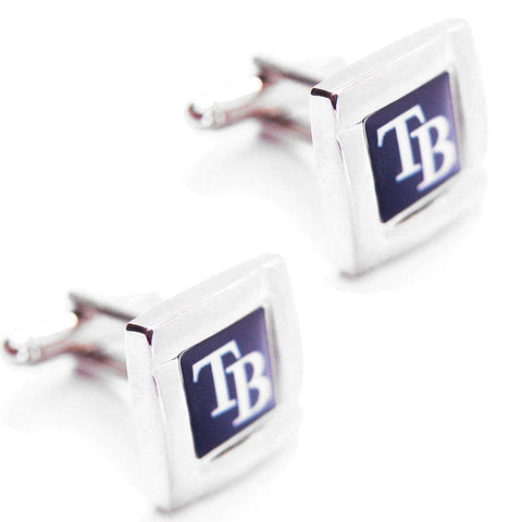 Tampa Bay Rays Square Cuff Links
