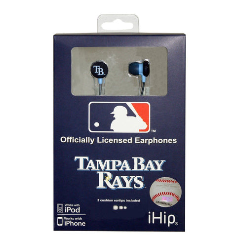 Tampa Bay Rays iHip Ear Buds