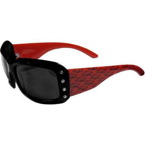 Arkansas Razorbacks Sunglasses - Ladies Rhinestone Sunglasses