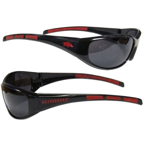 Arkansas Razorbacks Sunglasses - 3 Dot Team Logo Series Sport Sunglasses