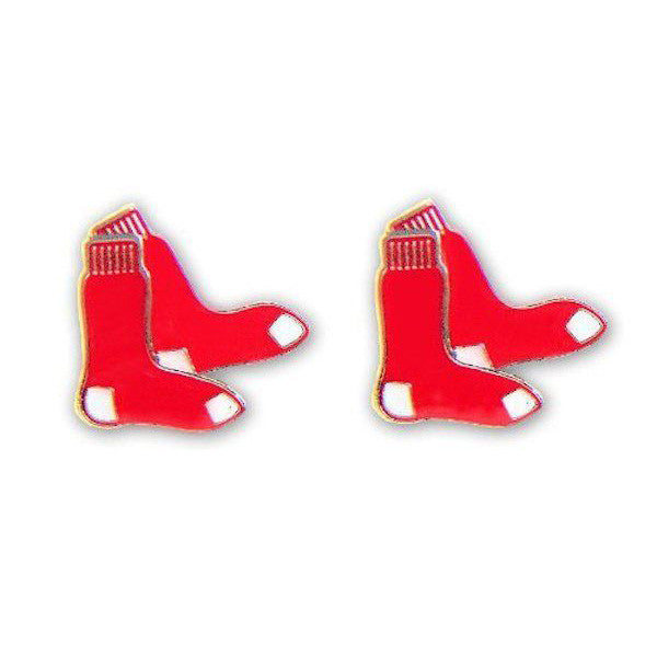Boston Red Sox Earrings - Logo Stud Earrings