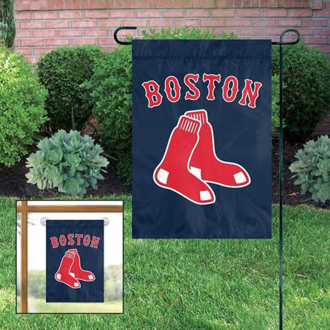 "Boston Red Sox Flag - 15""x10"" Indoor/Outdoor Garden Flag"