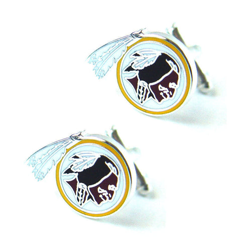 Washington Redskins Cuff Links - Logo Cuff Links