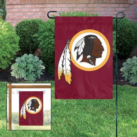 "Washington Redskins Indoor/Outdoor 15""x10"" Garden Flag"