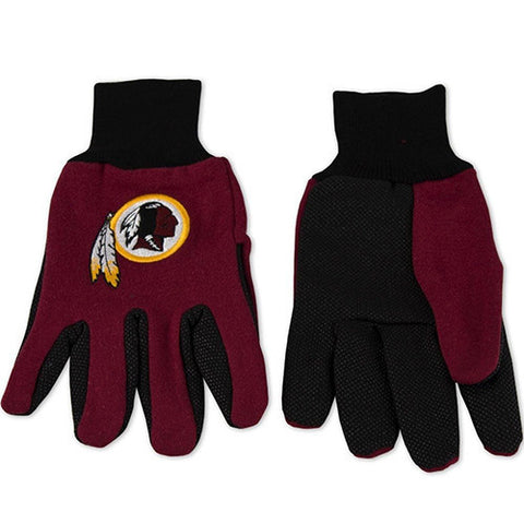 Washington Redskins Gloves - Utility Work Gloves