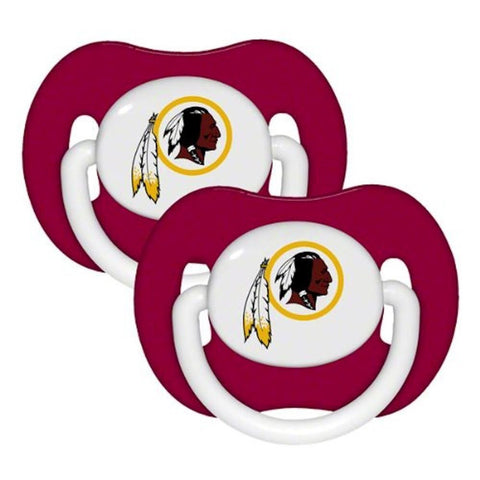 Washington Redskins Baby Pacifiers - Pack Of 2
