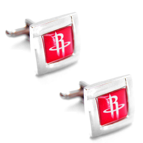 Houston Rockets Square Cuff Links