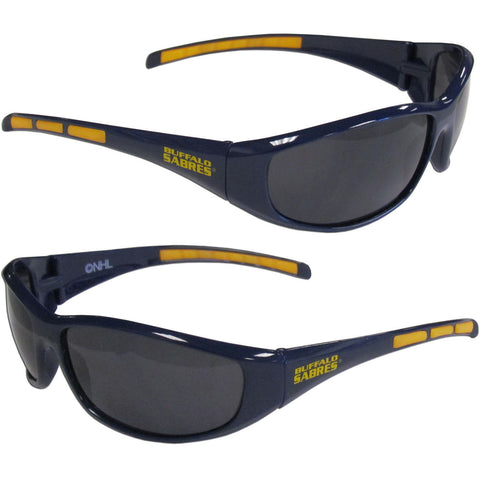 Buffalo Sabres 3 Dot Team Logo Series Sport Sunglasses