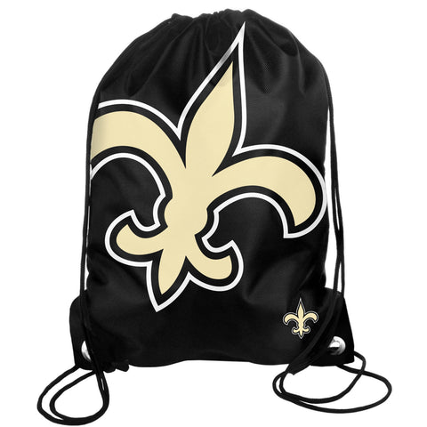New Orleans Saints Drawstring Backpack