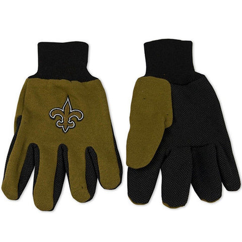 New Orleans Saints Utility Work Gloves