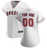 LA Angels of Anaheim Jersey - Custom Name and Number - Women's White