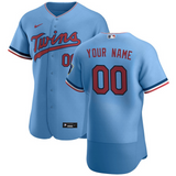 Minnesota Twins Jersey - Custom Name and Number - Blue