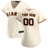 San Francisco Giants Jersey - Custom Name and Number - Women's Cream