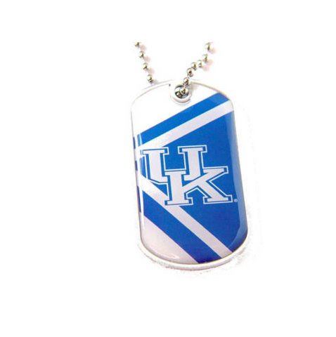 Kentucky Wildcats Necklace - Dog Tag Necklace