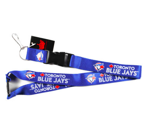 Toronto Blue Jays Lanyard - Detachable Keychain