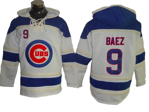 Chicago Cubs Lacer -  Any Name and Number Pullover