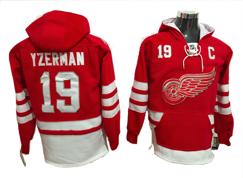 Detroit Red Wings Lacer - Red 100th Anniversary- Several Players