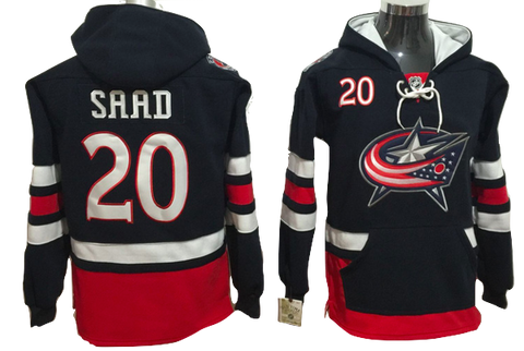 Columbus Blue Jackets Lacer -#20 Brandon Saad