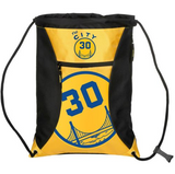 Golden State Warriors Backpack -  #30 Curry -The City Stripe Zipper Backpack