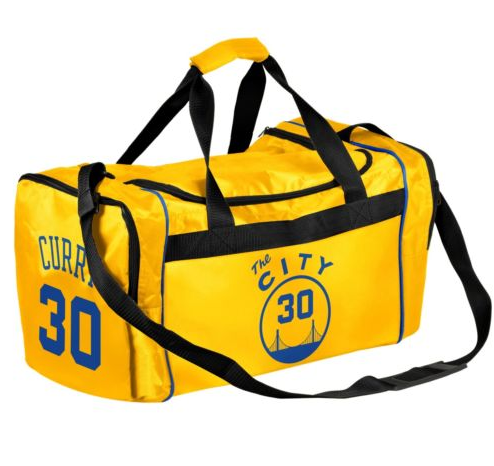 Golden State Warriors Duffel Bag -  #30 Curry -The City Core Duffel Bag