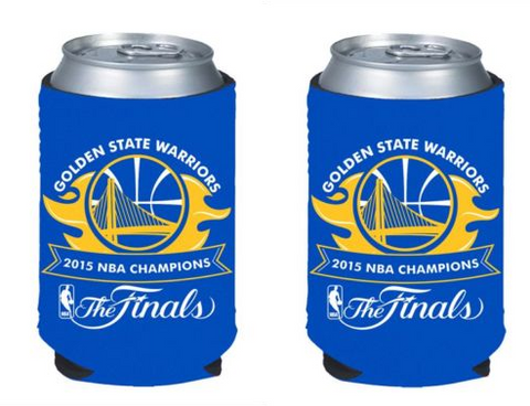 Golden State Warriors Koozies - 2015 NBA Champions Can Koozies (2-Pack)