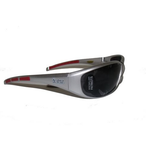 New England Patriots Sunglasses - 3 Dot Team Logo Series Sport Sunglasses