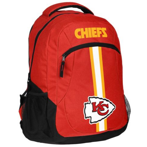 Kansas City Chiefs Backpack - Team Logo Laptop Backpack