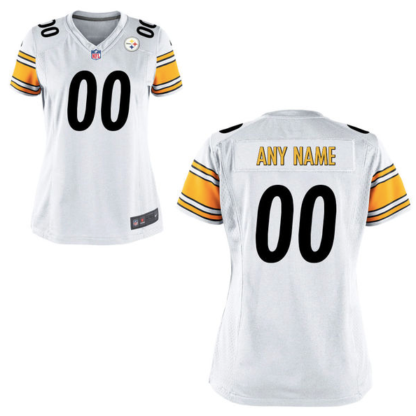 white steelers jersey