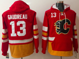 Calgary Flames Lacer - #13 Johnny Gaudreau Red
