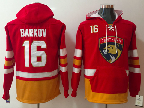 Florida Panthers Lacer - #16 Aleksander Barkov Red