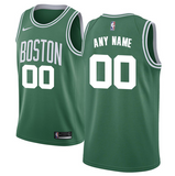 Boston Celtics Jersey - Custom Name and Number - Green