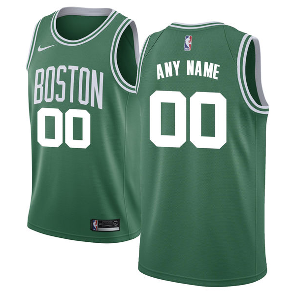 size 40 e6d9f cddde Boston Celtics Jersey - Custom Name and Number - Green