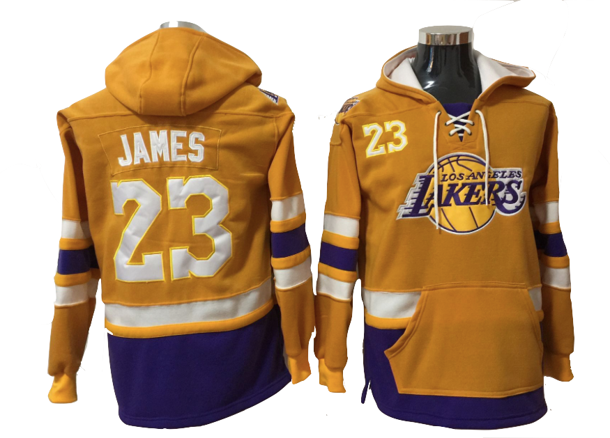 LeBron James Yellow Pullover