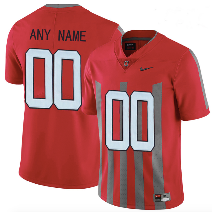 sports shoes 582a9 48cd7 Ohio State Buckeyes Jersey - Custom 1913 Throwback Jersey - Any Name and  Number