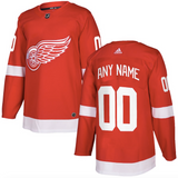 Detroit Red Wings Jersey - Red Jersey Custom Any Name or Number