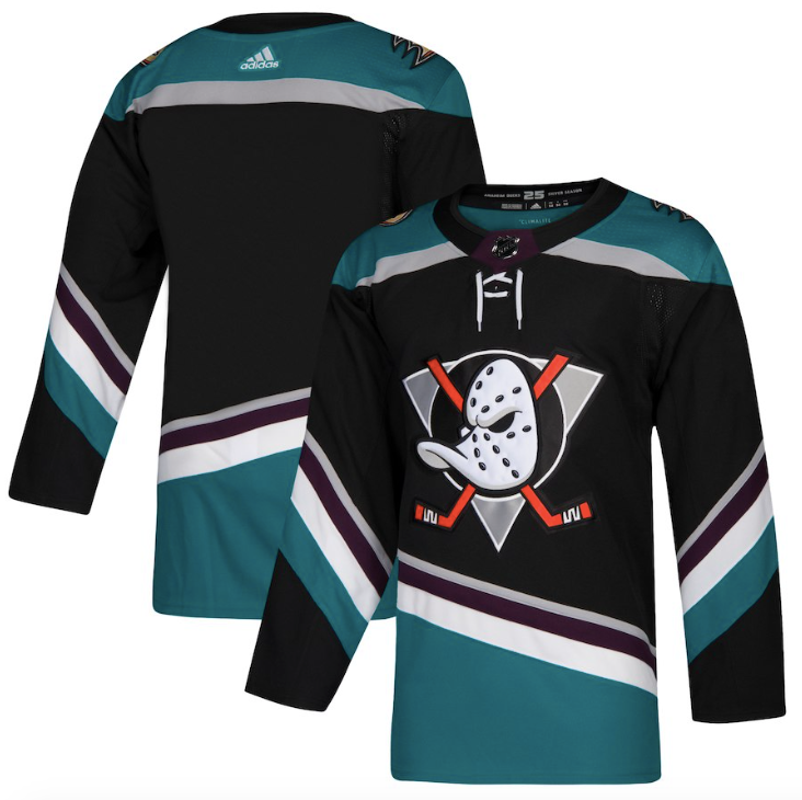 705356d6136 Anaheim Ducks Jersey - Teal Custom Any Name or Number – SportsFanStudio