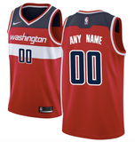 Washington Wizards Jersey - Custom Name and Number - Red
