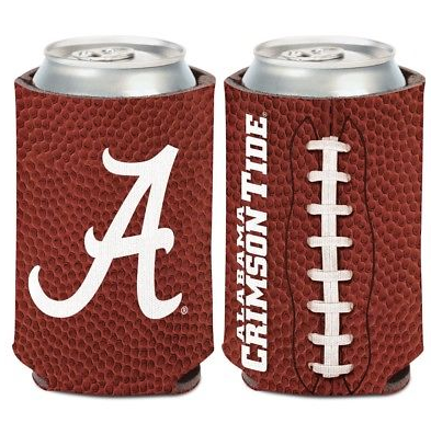 Alabama Crimson Tide Koozie - 12oz Football Can Koozie