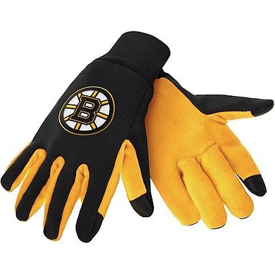 Boston Bruins Gloves - Technology Texting Gloves