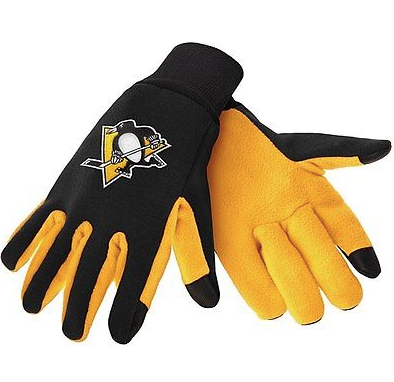 Pittsburgh Penguins Gloves - Technology Texting Gloves