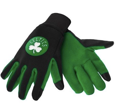 Boston Celtics Gloves - Technology Texting Gloves