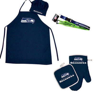 Seattle Seahawks Combo Set - BBQ Combo Set