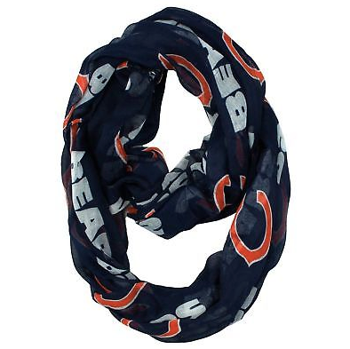 Chicago Bears Scarf -  Infinity Scarf