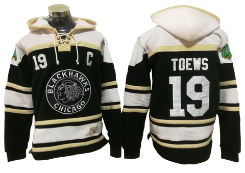 Chicago Blackhawks Lacer - Jonathan Toews Black Winter Classic