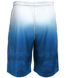Los Angeles Dodgers Shorts - Gradient Big Logo Training Shorts